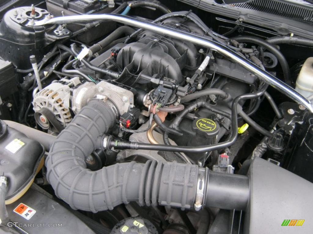 2006 Ford Mustang V6 Premium Coupe 4.0 Liter SOHC 12-Valve V6 Engine Photo #39422199