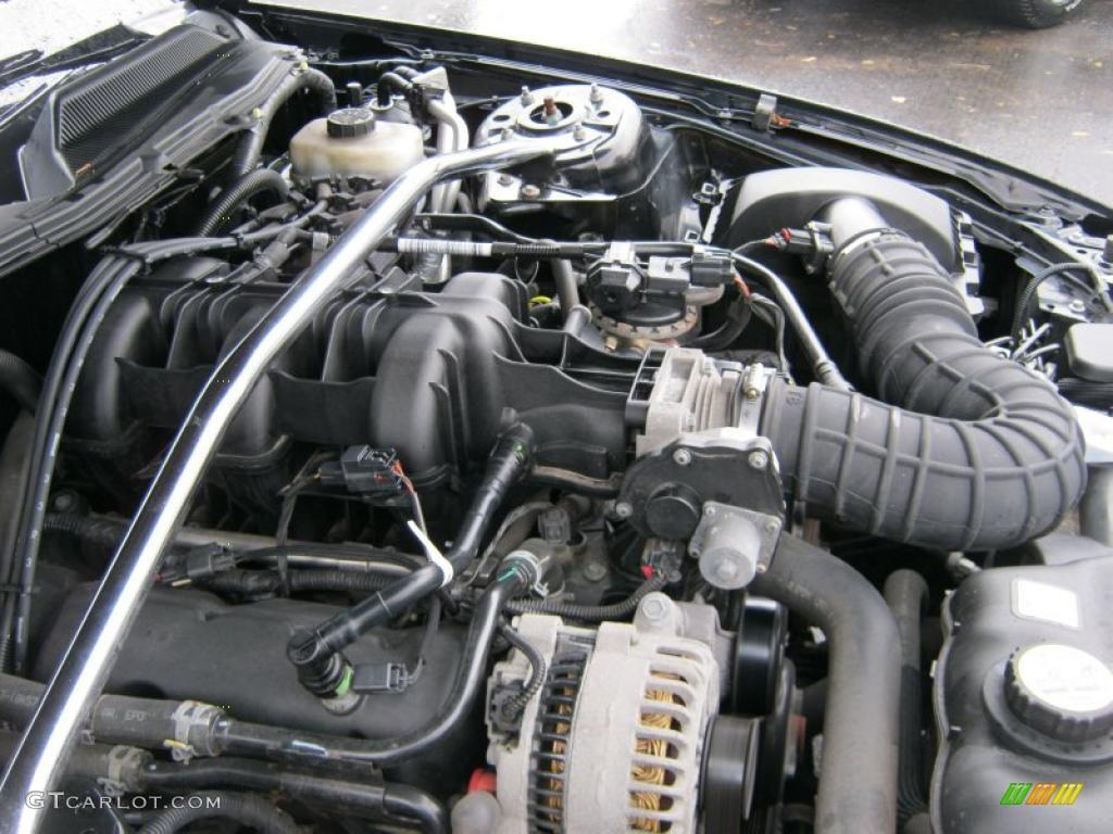 2006 Ford Mustang V6 Premium Coupe 4.0 Liter SOHC 12-Valve V6 Engine Photo #39422218