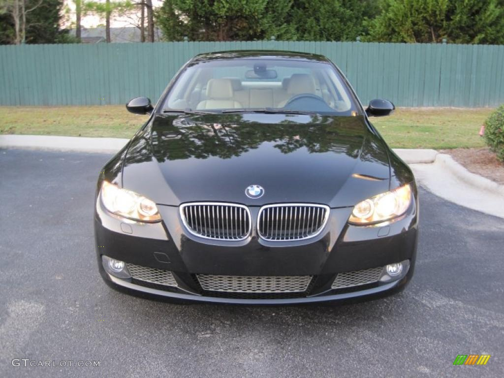 black sapphire metallic 2007 bmw 3 series 335i coupe. Black Bedroom Furniture Sets. Home Design Ideas