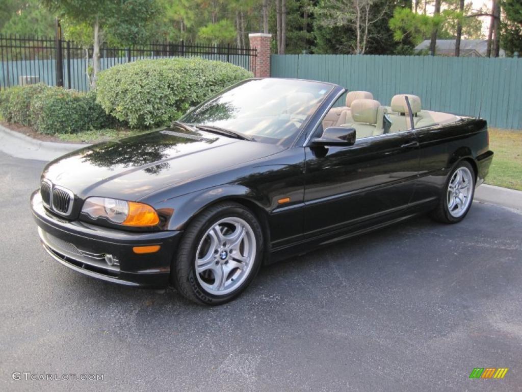 Jet Black BMW Series I Convertible GTCarLot - 2001 bmw convertible