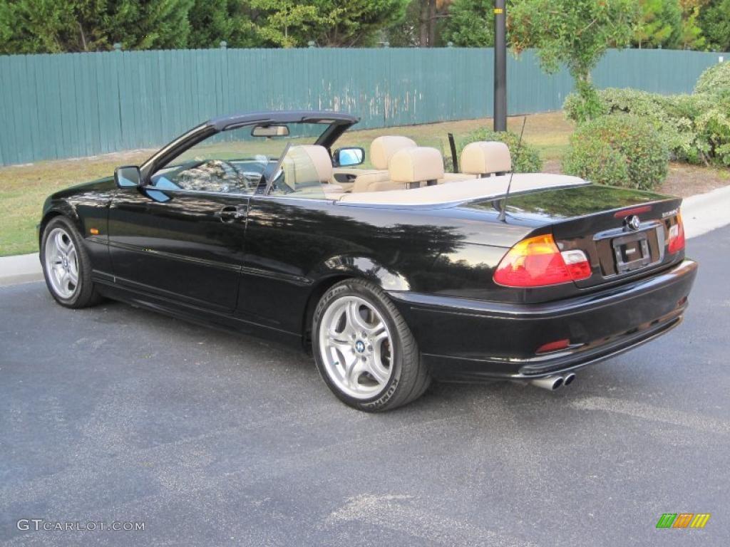 Jet Black BMW Series I Convertible Exterior Photo - 2001 bmw convertible