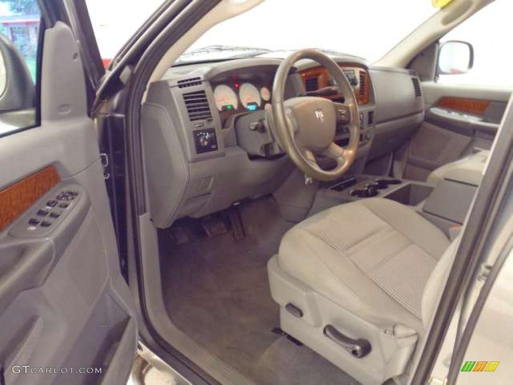 2006 Ram 1500 SLT Quad Cab - Mineral Gray Metallic / Medium Slate Gray photo #13