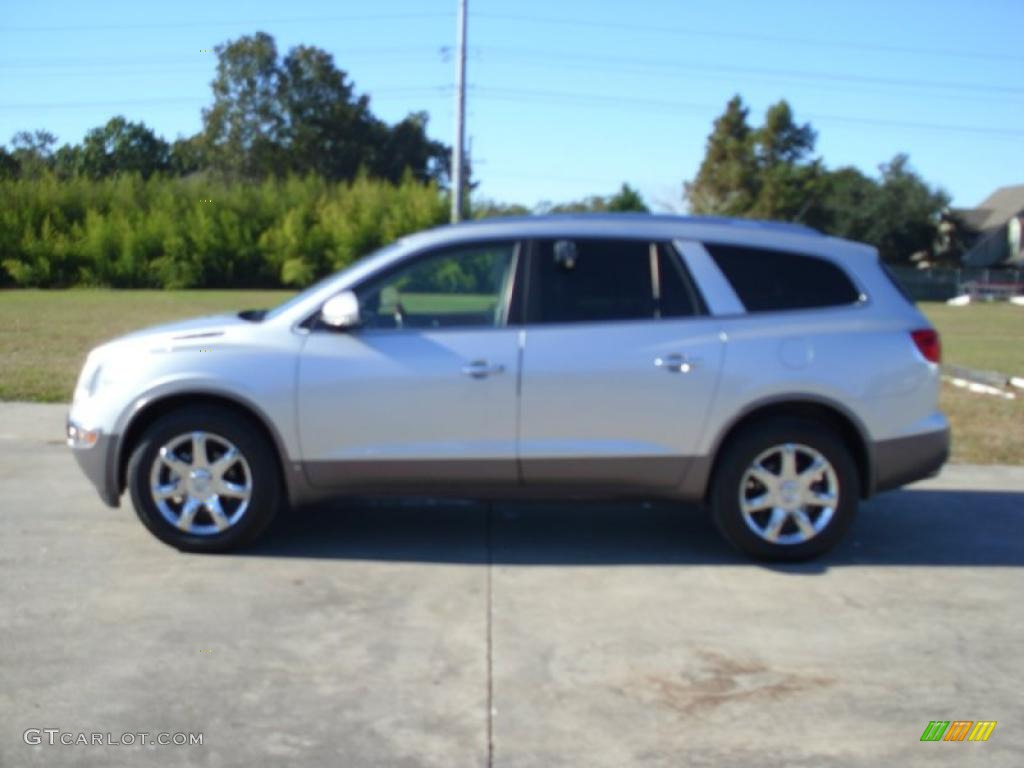 2010 Enclave CXL - Quicksilver Metallic / Titanium/Dark Titanium photo #1