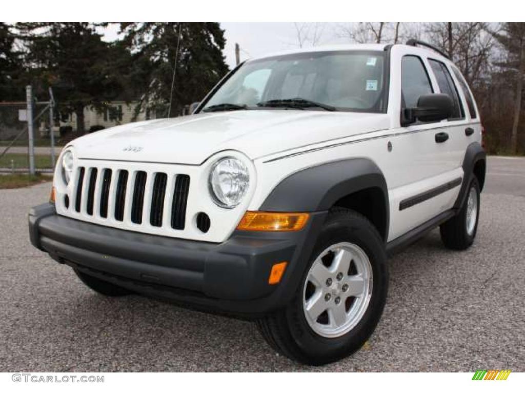 2006 stone white jeep liberty sport 4x4 #39430623 | gtcarlot