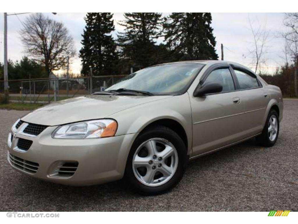 linen gold metallic 2005 dodge stratus sxt sedan exterior. Black Bedroom Furniture Sets. Home Design Ideas