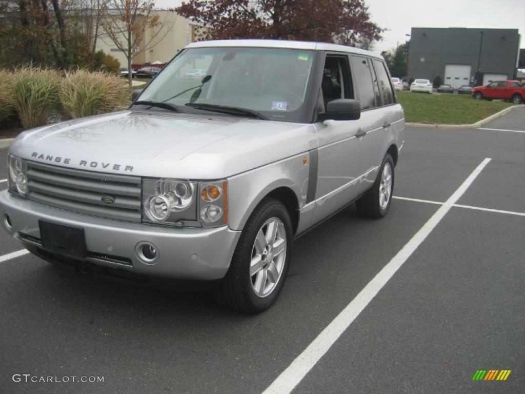 2005 Range Rover HSE - Zambezi Silver Metallic / Jet Black photo #1