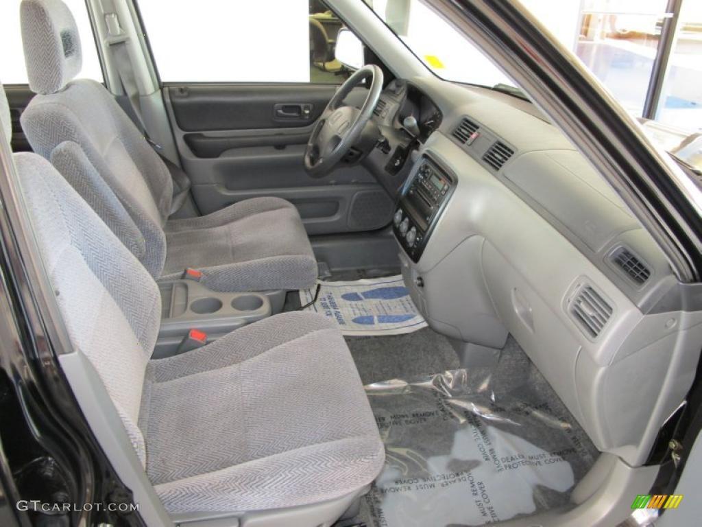 Charcoal Interior 1997 Honda Cr V 4wd Photo 39440038