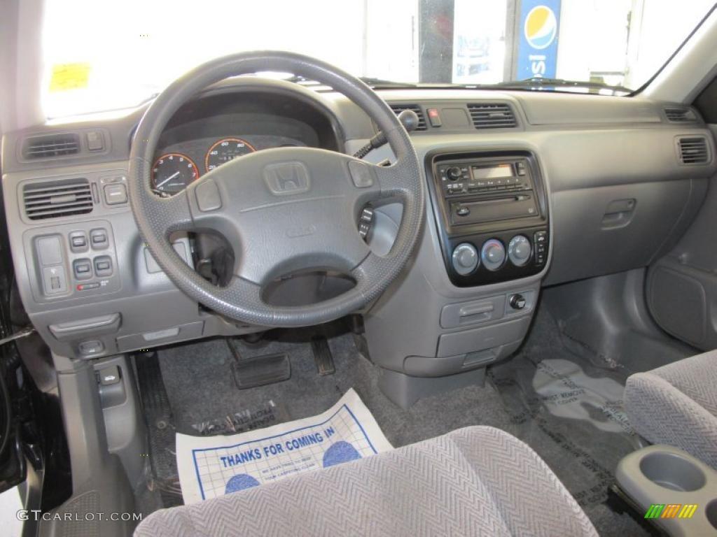 Charcoal Interior 1997 Honda Cr V 4wd Photo 39440066