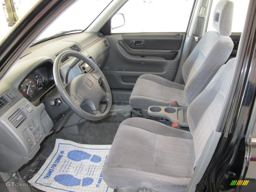 Charcoal Interior 1997 Honda Cr V 4wd Photo 39440082