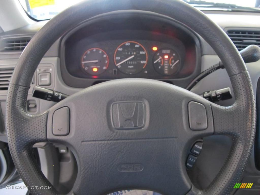 1997 Honda Cr V 4wd Charcoal Steering Wheel Photo 39440098