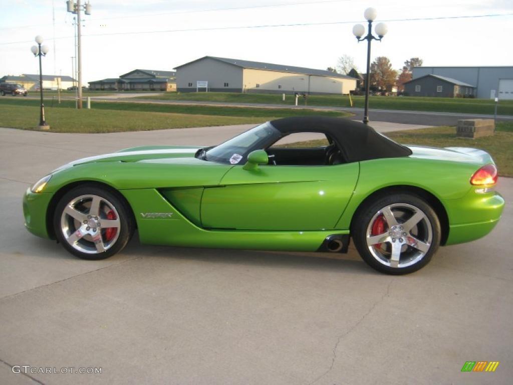 2008 Viper Snakeskin Green Pearlcoat Dodge Srt 10 39430968