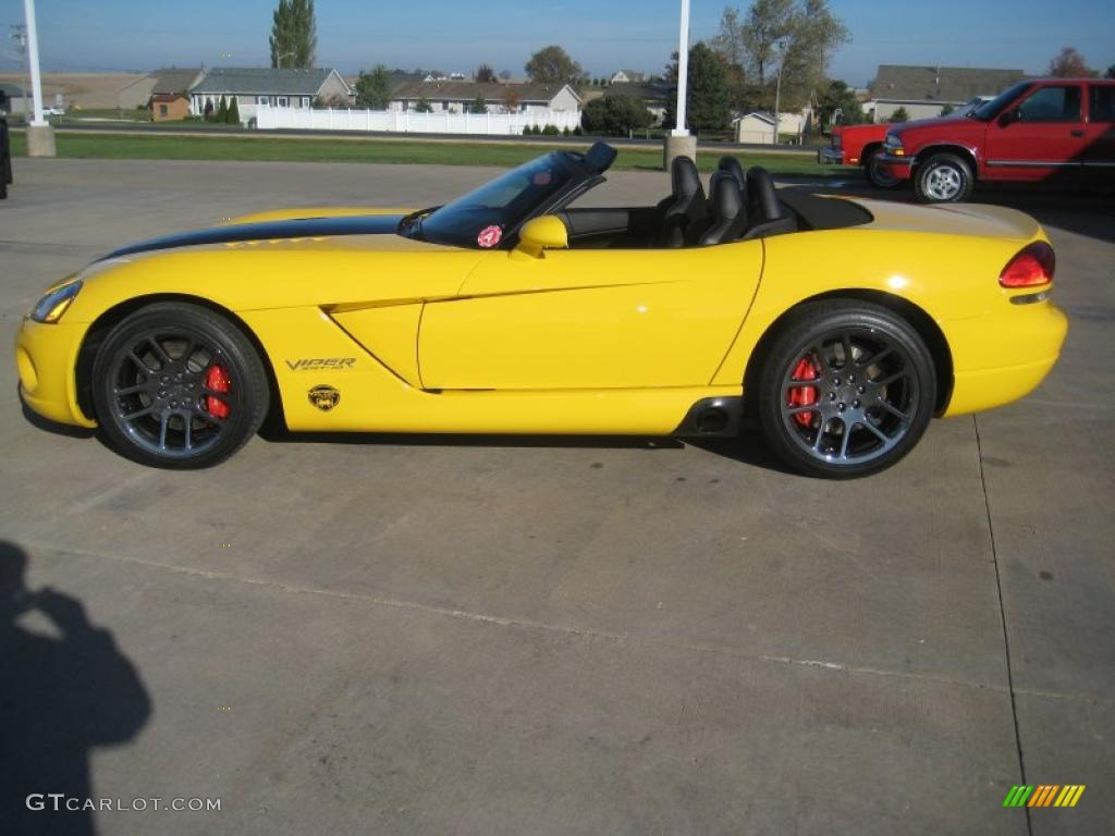 Viper Race Yellow 2005 Dodge Viper SRT10 VCA Special Edition Exterior ...