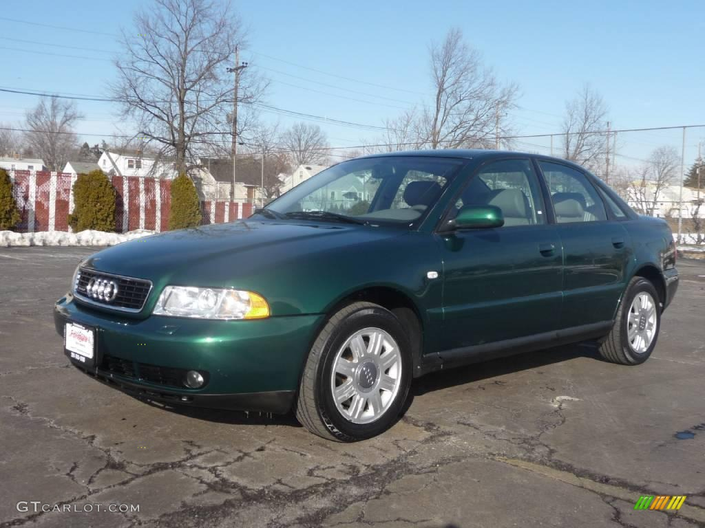2001 cactus green pearl effect audi a4 1 8t quattro sedan 3938146 car color. Black Bedroom Furniture Sets. Home Design Ideas