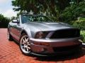 2007 Tungsten Grey Metallic Ford Mustang Shelby GT500 Convertible  photo #1