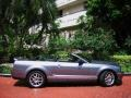 2007 Tungsten Grey Metallic Ford Mustang Shelby GT500 Convertible  photo #7