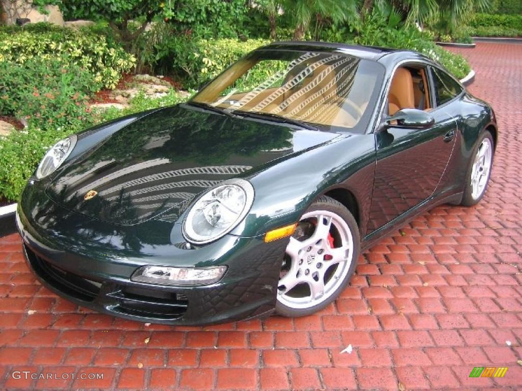 1c097d5cb32215 2008 Forest Green Metallic Porsche 911 Targa 4S  39431273 Photo  3 ...