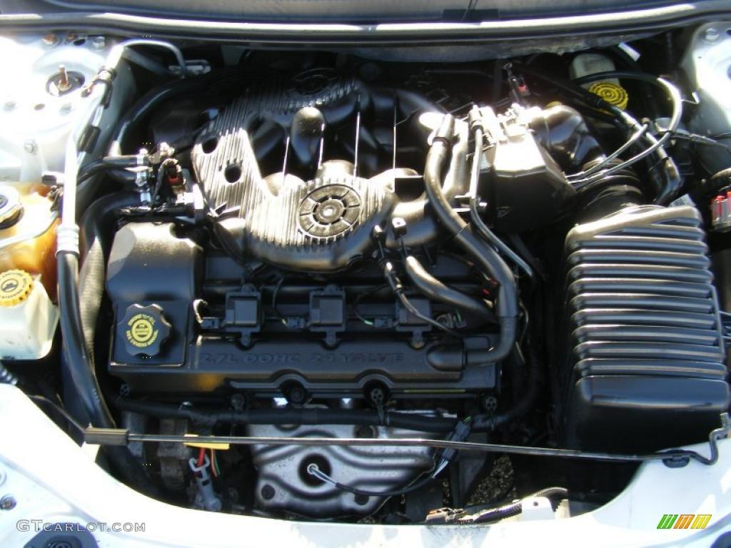 2004 chrysler sebring 2 7 engine diagram 2004 chrysler sebring lx convertible 2.7 liter dohc 24 ...