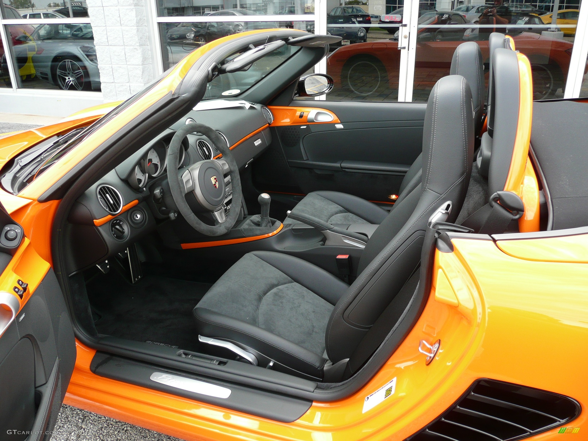 2008 Orange Porsche Boxster S Limited Edition 39380 Photo