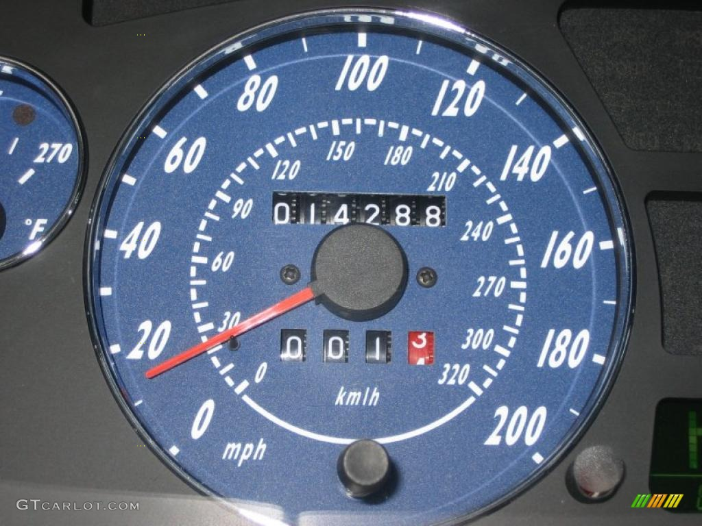 2006 Maserati Gransport Coupe Gauges Photo 39465718