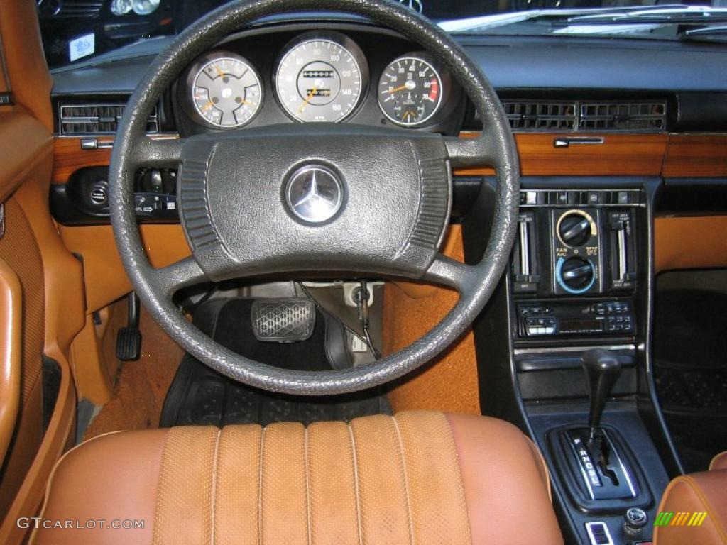 1975 Mercedes-Benz S Class 450 SE Natural Brown Steering ...