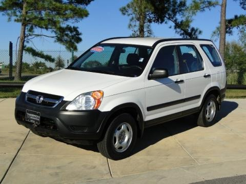 2003 Honda CR-V LX Data,