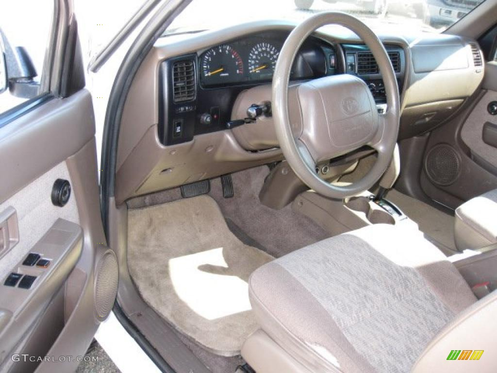 oak interior 1999 toyota tacoma prerunner v6 extended cab photo 39475062