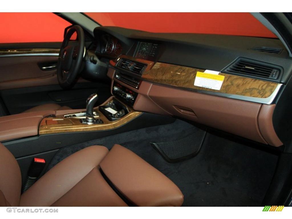 2011 Bmw 5 Series 528i Sedan Cinnamon Brown Dashboard Photo 39476190