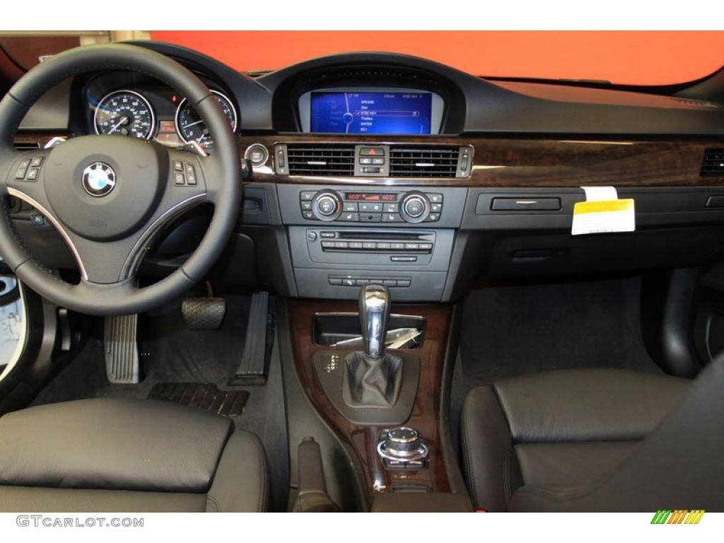 2011 Bmw 3 Series 335i Convertible Black Dashboard Photo