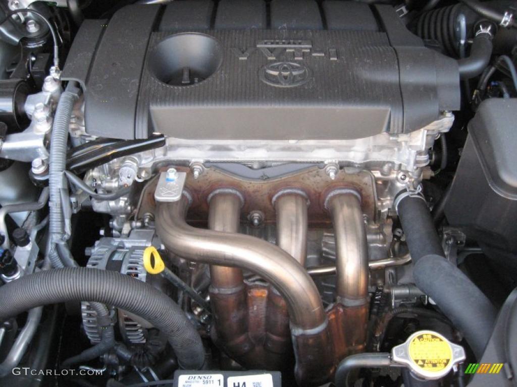 2011 Toyota Sienna Standard Sienna Model 2.7 Liter DOHC 16-Valve VVT-i 4