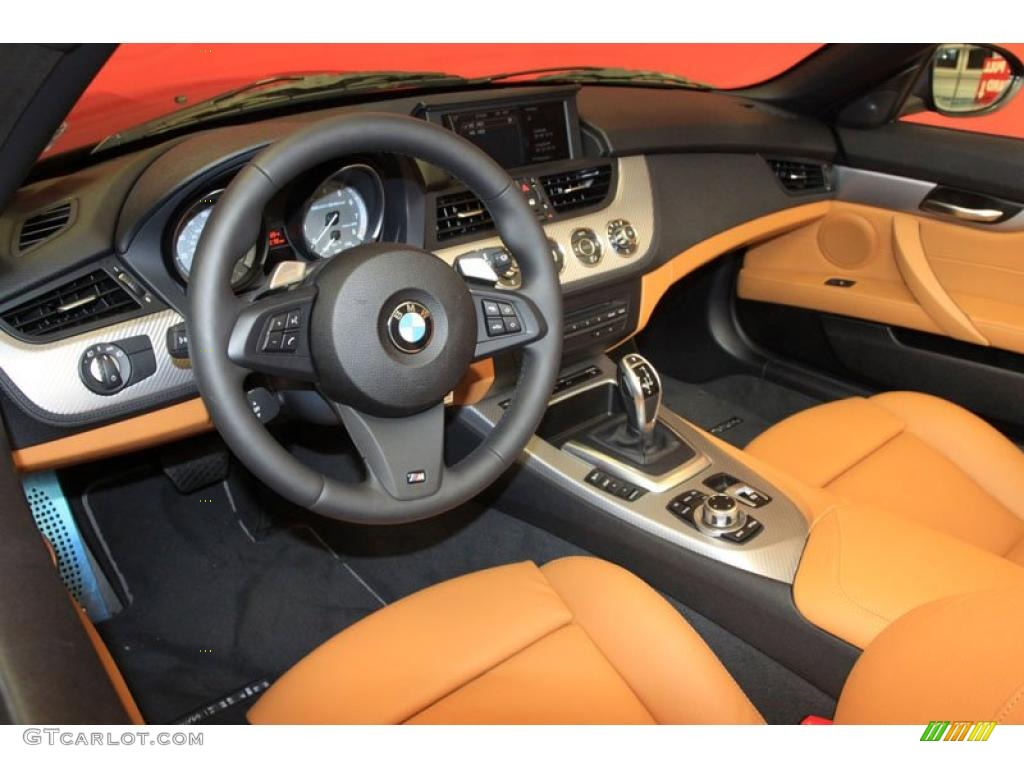 Walnut Interior 2011 Bmw Z4 Sdrive35is Roadster Photo