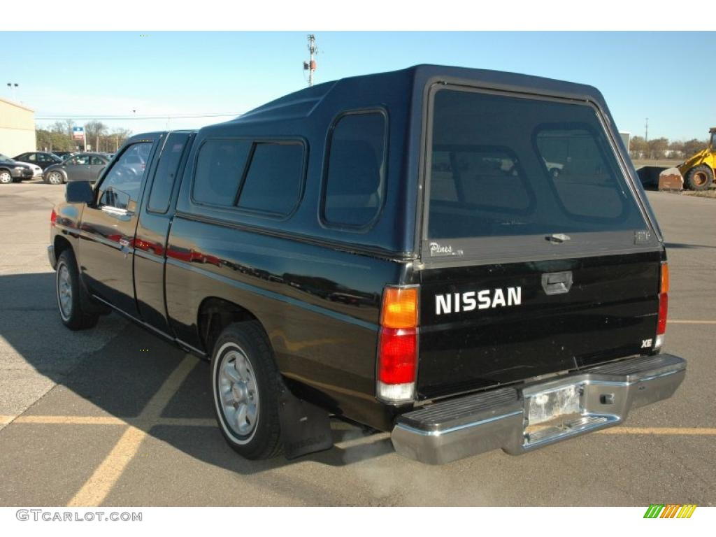 1997 super black nissan hardbody truck se extended cab. Black Bedroom Furniture Sets. Home Design Ideas