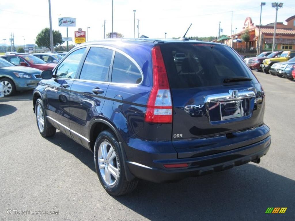 2011 CR-V EX-L 4WD - Royal Blue Pearl / Gray photo #3