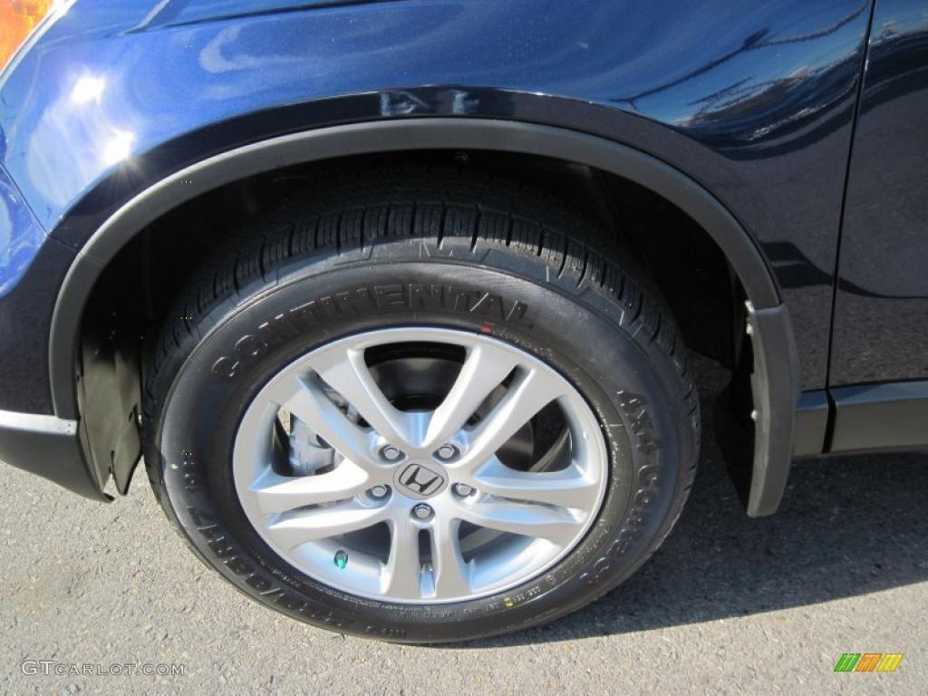 2011 CR-V EX-L 4WD - Royal Blue Pearl / Gray photo #9