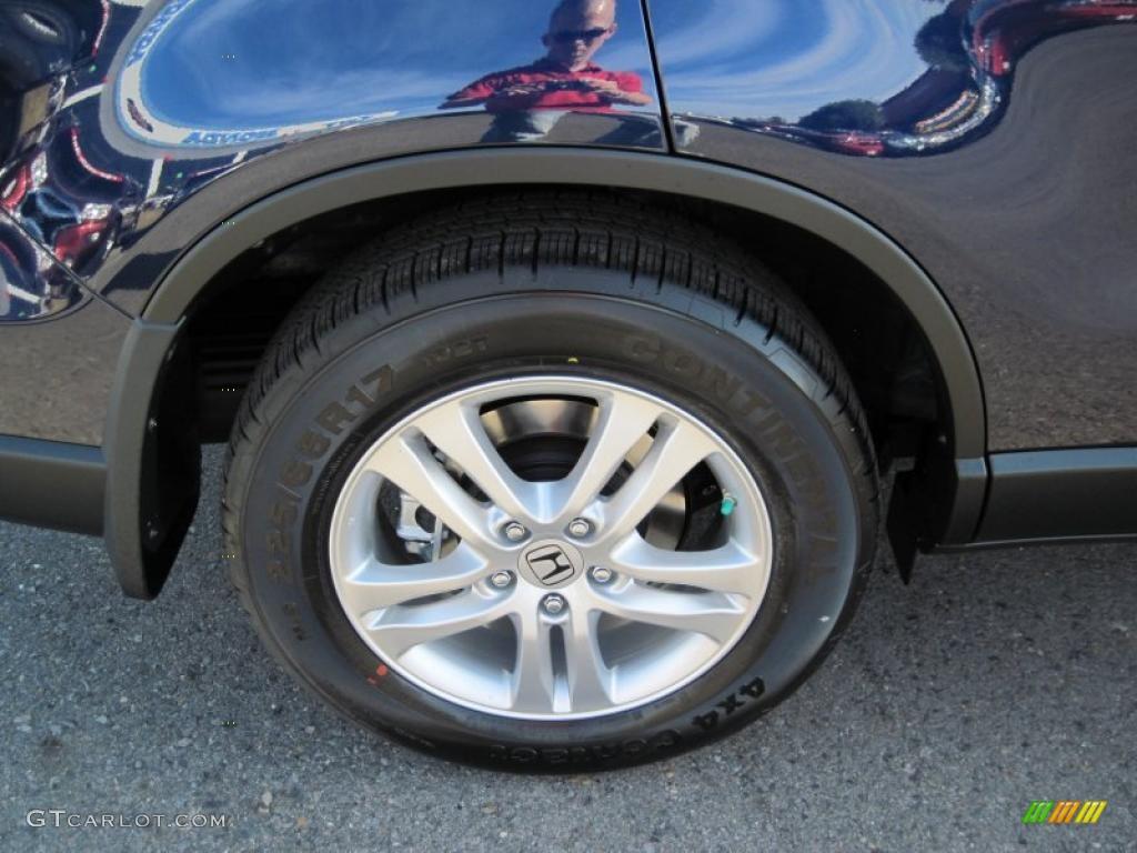 2011 CR-V EX-L 4WD - Royal Blue Pearl / Gray photo #11