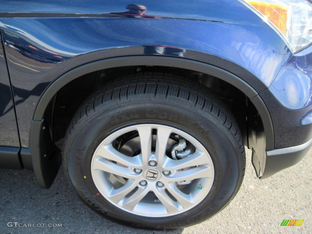 2011 CR-V EX-L 4WD - Royal Blue Pearl / Gray photo #12