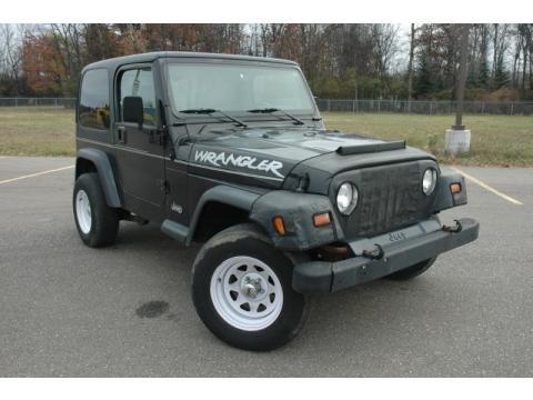 1997 jeep wrangler se 4x4 data info and specs. Black Bedroom Furniture Sets. Home Design Ideas