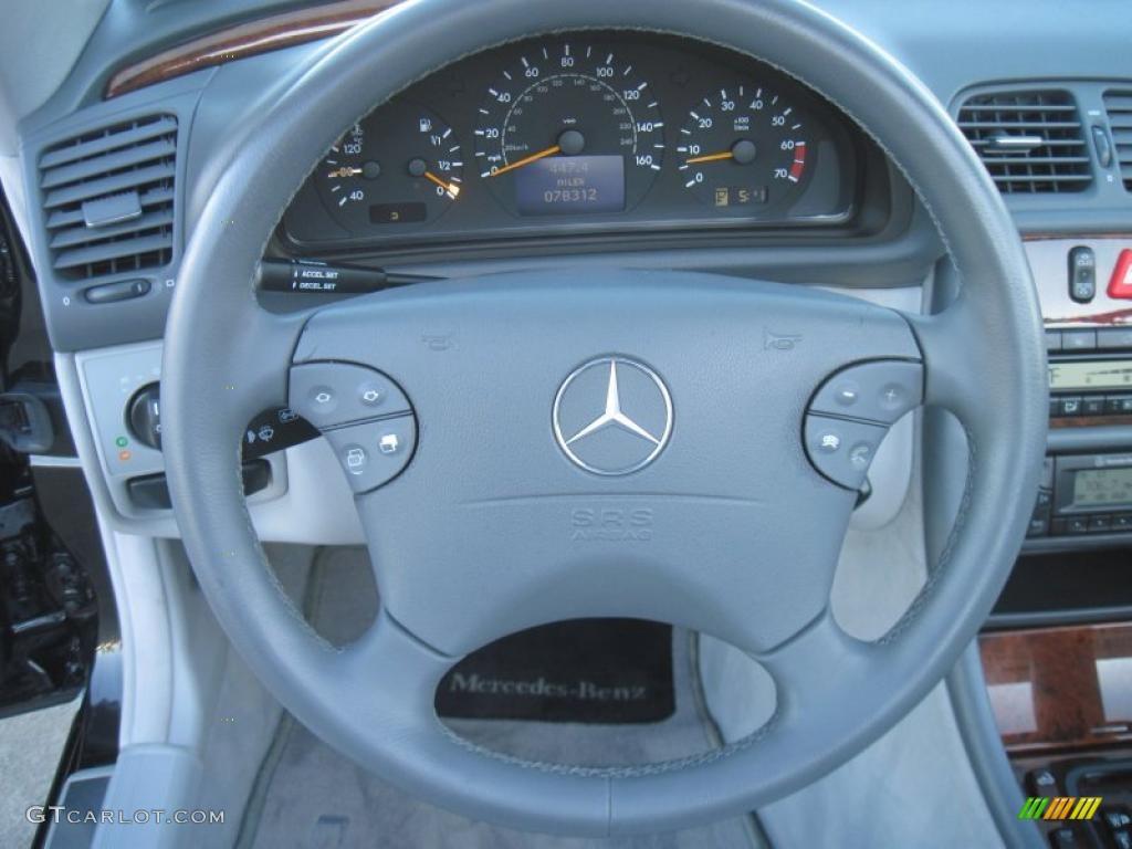 2003 mercedes benz clk 320 cabriolet ash steering wheel for Mercedes benz steering wheel