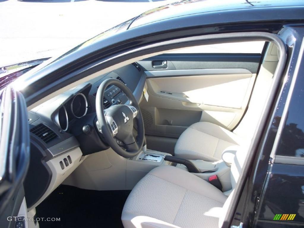 Beige Interior 2011 Mitsubishi Lancer Es Photo 39494120