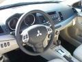 Beige 2011 Mitsubishi Lancer Interiors