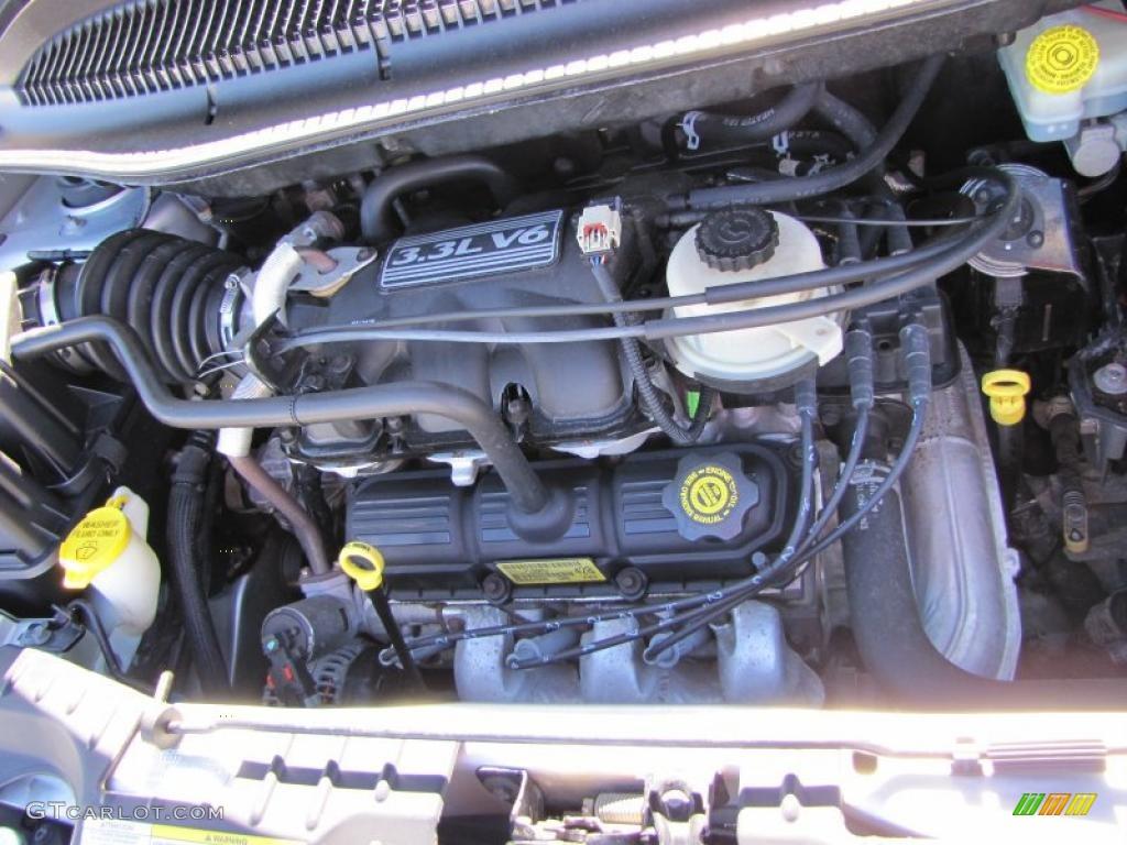 2004 Dodge Grand Caravan Se 3 3 Liter Ohv 12