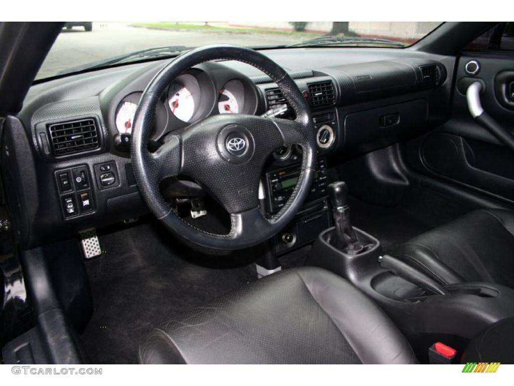 2005 toyota mr2 spyder roadster interior photo 39505220
