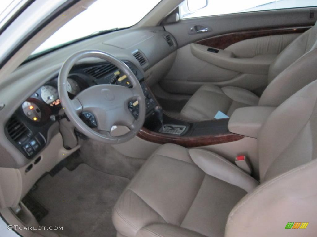 parchment interior 2001 acura cl 3 2 type s photo 39507432