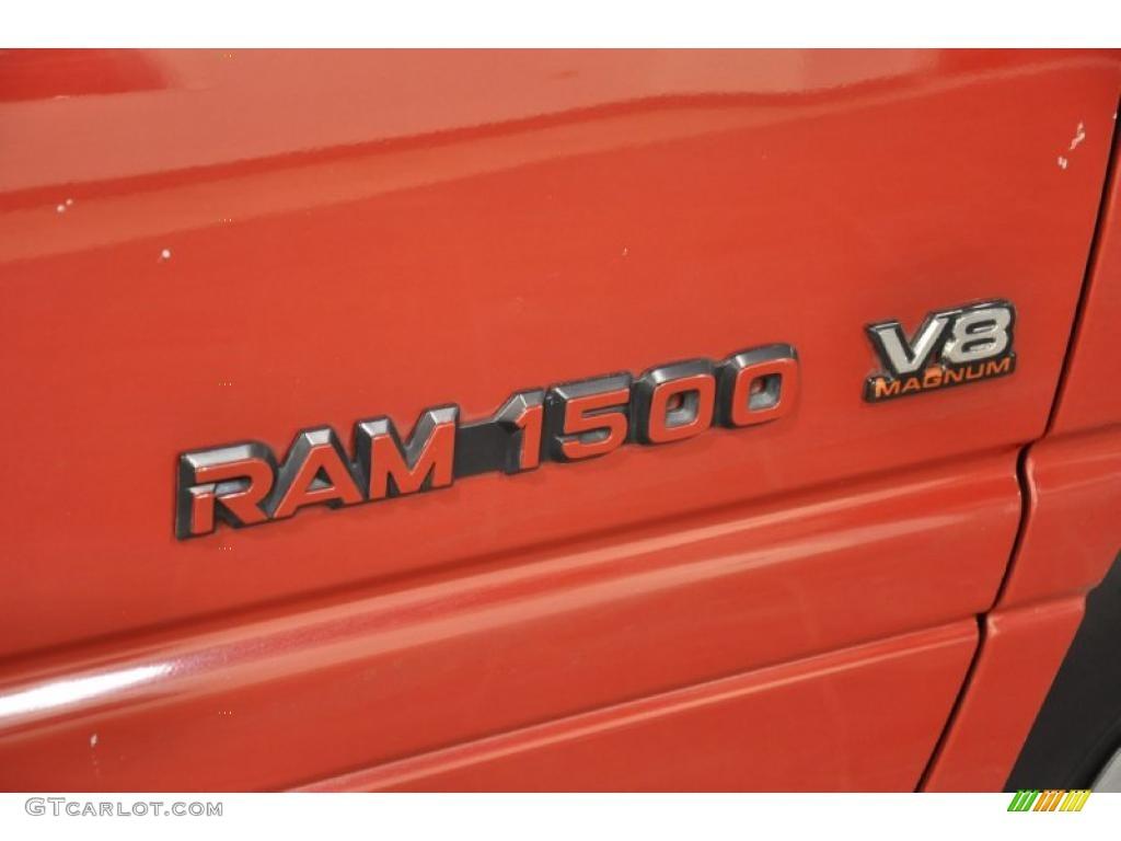 1997 dodge ram 1500 sport extended cab marks and logos. Black Bedroom Furniture Sets. Home Design Ideas