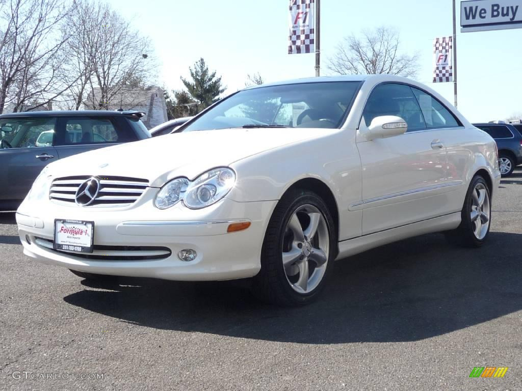 2005 alabaster white mercedes benz clk 320 coupe 3938147 for Mercedes benz coupe 2005