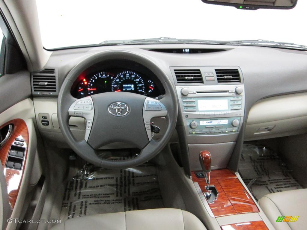 2008 toyota camry xle v6 ash dashboard photo 39527257. Black Bedroom Furniture Sets. Home Design Ideas