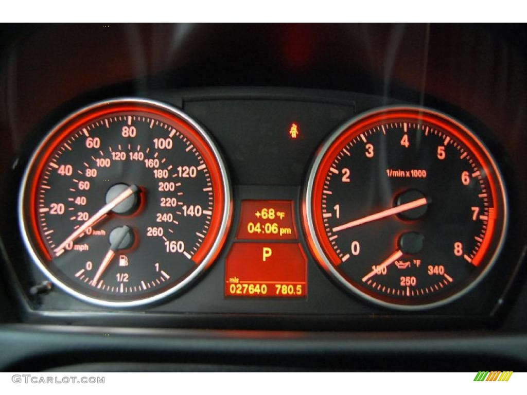 2008 Bmw 3 Series 335i Coupe Gauges Photo 39527797