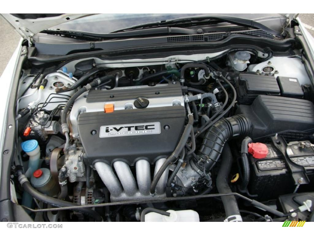 2004 Honda Accord Ex L Coupe 2 4 Liter Dohc 16 Valve I Vtec Cylinder Engine Photo 39528745