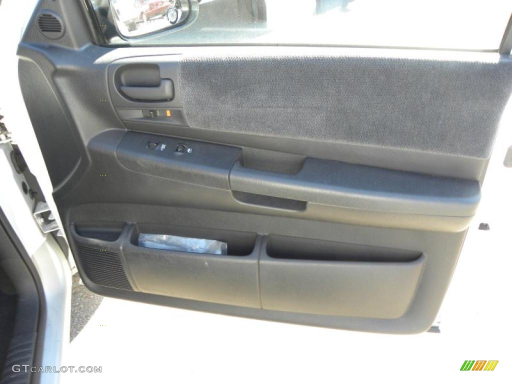 2001 Dodge Dakota Slt Quad Cab Dark Slate Gray Door Panel Photo 39533309