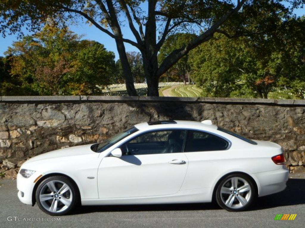 Alpine White BMW Series I Coupe Exterior Photo - Bmw 335i 2008 coupe