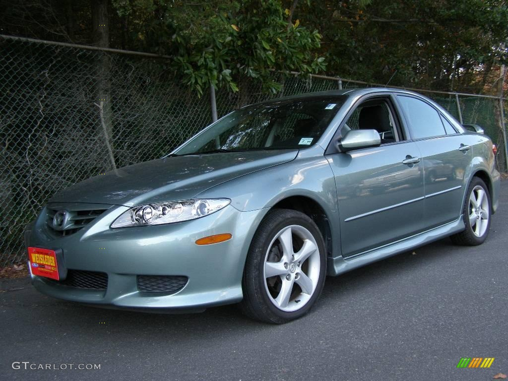 2005 sepang green metallic mazda mazda6 i sport sedan 3938720 car color galleries. Black Bedroom Furniture Sets. Home Design Ideas